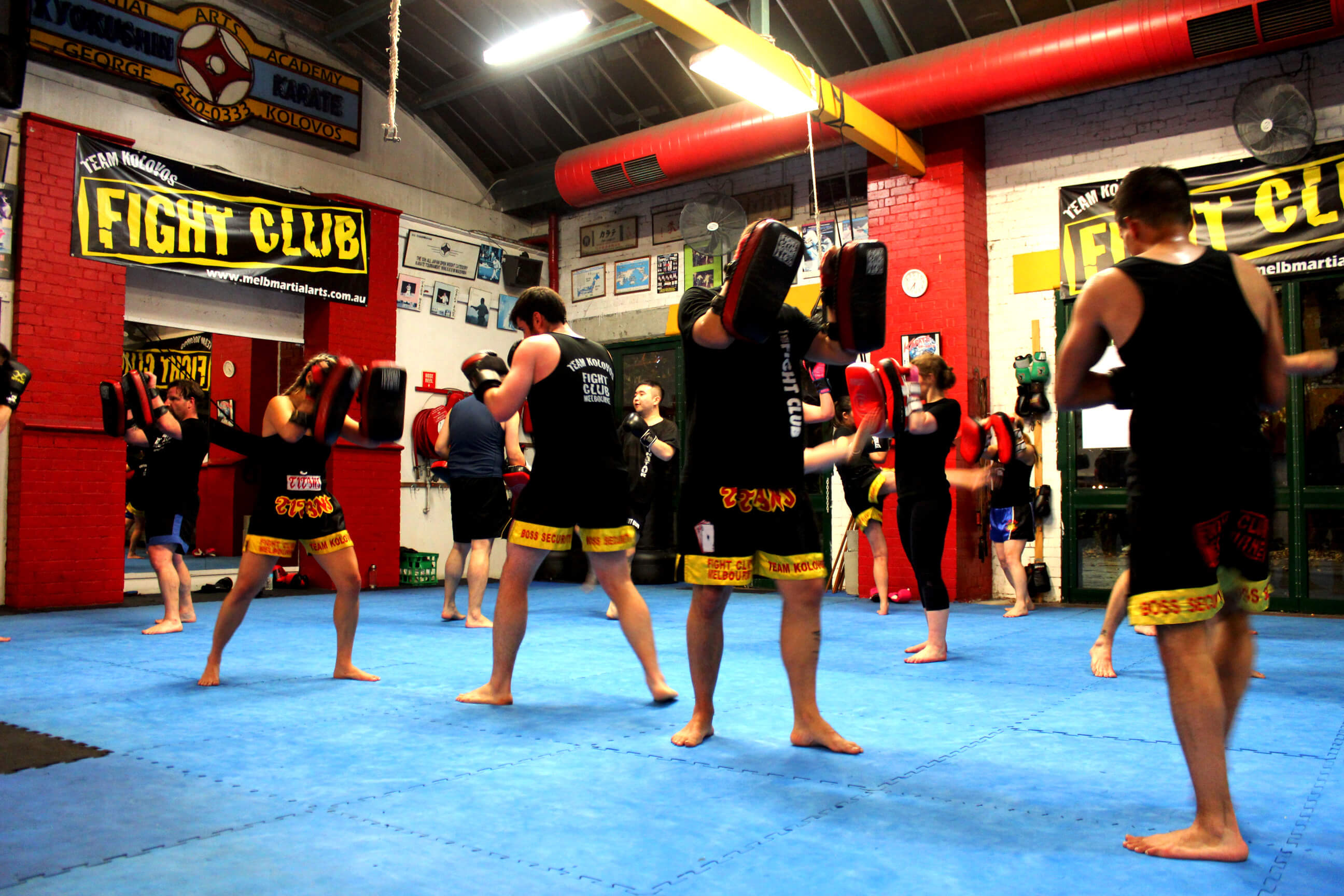 Muay Thai Lessons   Kickboxing Classes   Melbourne Fight Club